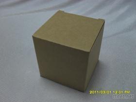 77*77*77mm牛皮瓦楞公版盒