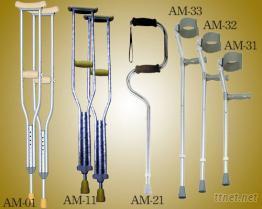 小兒麻痺枴杖, 腋下手杖