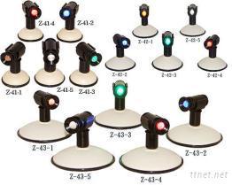 吸盤式旋轉照明警示燈