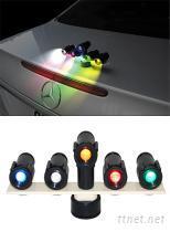 磁鐵旋轉式照明警示燈,水族燈,舞會燈