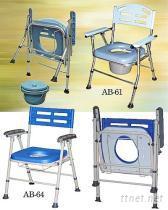 可摺疊室內便器椅