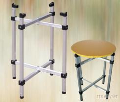 折疊收合圓桌,收納式折疊桌,折疊桌腳