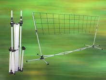 羽球網架,可攜式羽球網架