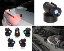 磁铁夹扣式旋转照明警示灯, 登山警示灯, 小型夜灯