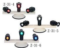 三灯吸盘式旋转照明警示灯