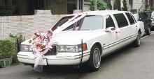 豪華三節加長型結婚禮車