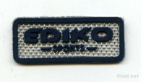 軟質商標 (加網底紋)