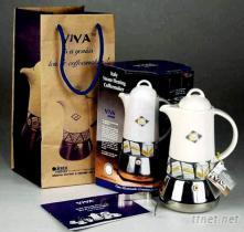 義大利蒸汽加壓咖啡壺