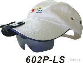 3方位可調整抗紫外線夾帽式偏光太陽眼鏡
