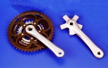 腳踏車齒輪軸