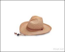 拉菲草西部帽