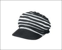 针织女报童帽
