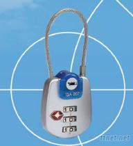TSA机场专用行李箱锁