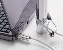 笔记型电脑号码安全锁