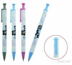 1033扶桑花 按鍵水性原子筆-廣告筆