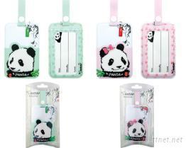 熊猫行李吊牌