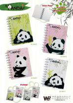 儿童文具熊猫笔记本