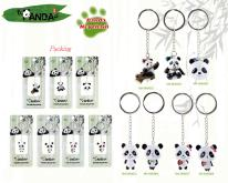 熊猫晃身造型钥匙圈-儿童安全文具