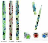 1025 木槿花鋼珠筆-原子筆
