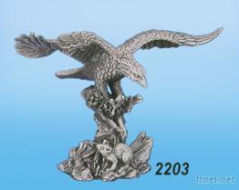 鷹捕鼠2203-合金藝品