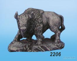 美洲野牛2206-金属艺品