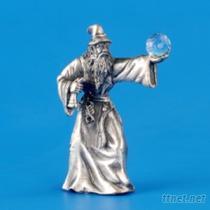 巫師-水晶擺飾藝品