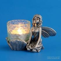 花仙女102 -燭台藝品