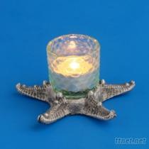 海星103-燭台藝品