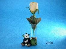 彩繪熊貓-花瓶