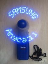 LED閃字風扇