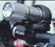 9颗LED脚踏车车灯 + 脚架 (礼盒组)