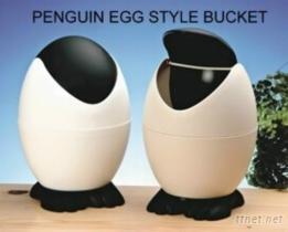 企鵝蛋型置物桶