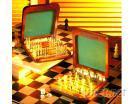 木制西洋棋