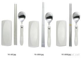 眼鏡盒環保筷匙組