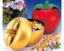 (苹果、桔子)造型糖果盒