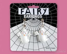 小精灵造型耳环