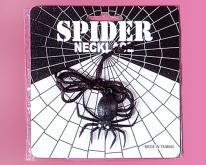 蜘蛛造型项链