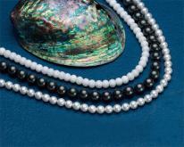 天然貝珠飾品項鍊