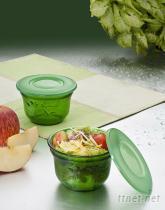 實用密封翠玉玻璃碗
