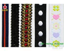 扁織帶, 提花織帶, 花邊織帶
