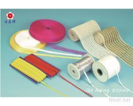 台孟牌緞帶, 彎帶, 針織帶