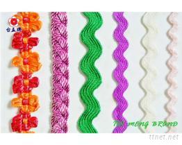 彎帶, 花邊織帶, 特多織帶, 繩