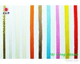 水兵帶, 金蔥織帶, 金蔥緞帶