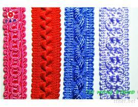 花邊織帶, 床罩飾條, 提花織帶