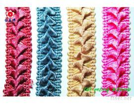 花邊織帶, 提花織帶, 床罩織帶