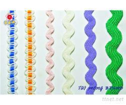 彎帶, 花編織帶, 造型織帶