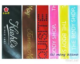 尼龍緞帶, 提花緞帶, 印花緞帶