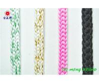 混色織帶, 圓織帶, 繩