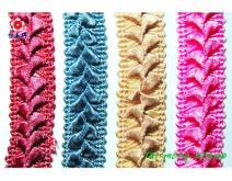 花边织带, 提花织带, 床罩织带