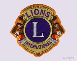 國際獅子會刺繡臂章